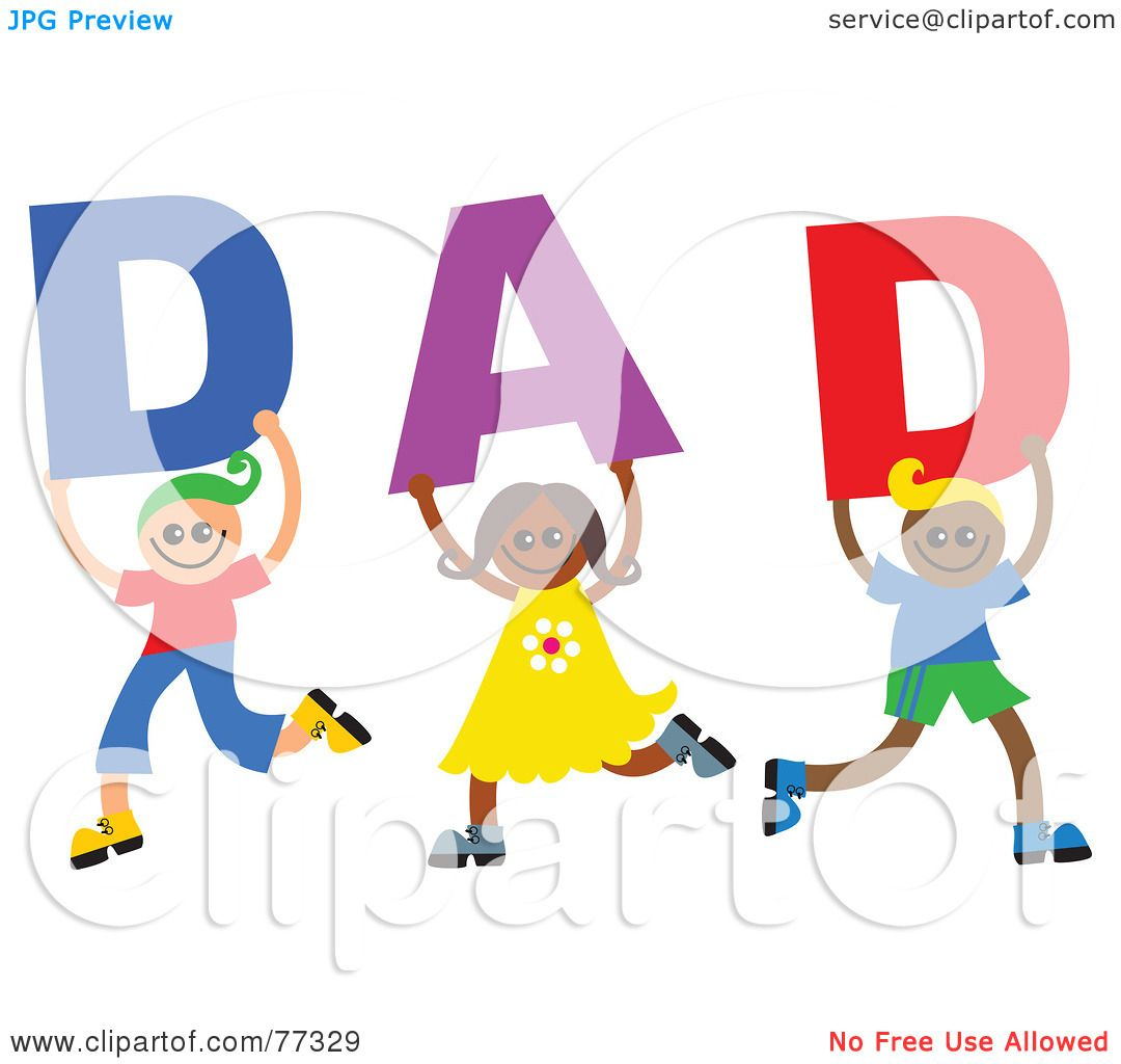 Royalty Free Rf Clipart Illustration Of Three Children