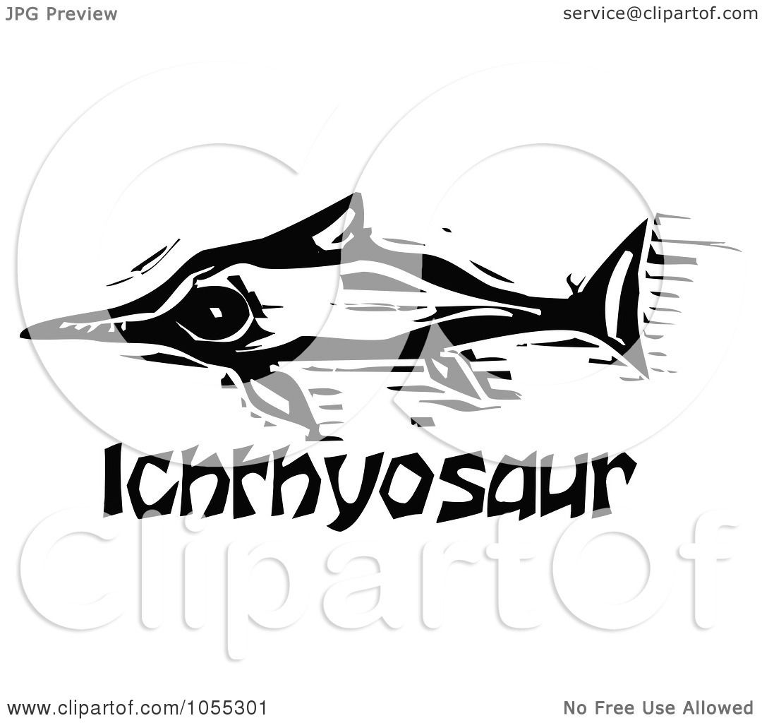 Displaying 17 gt  Images For - Ichthyosaurus Coloring Page   Ichthyosaurus Coloring Page