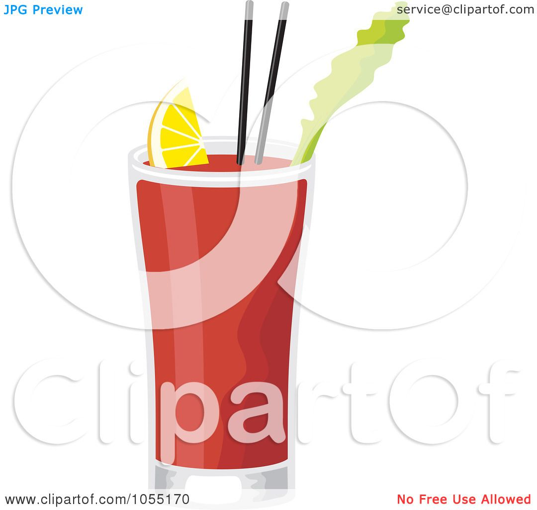 bloody mary drink clipart - photo #10