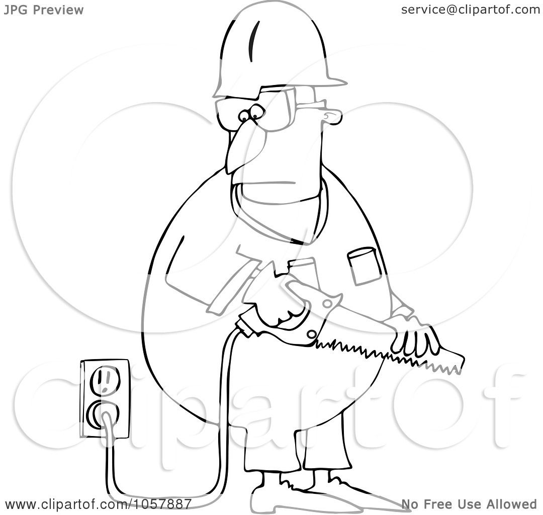 Royalty-Free Vector Clip Art Illustration of a Coloring ...