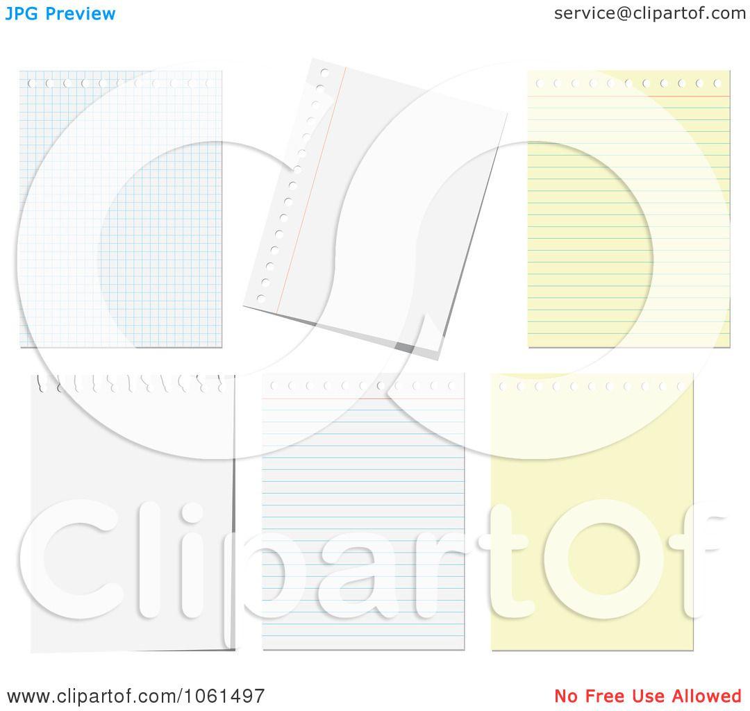 RoyaltyFree Vector Clip Art Illustration of a Digital Collage Of – Digital Graph Paper