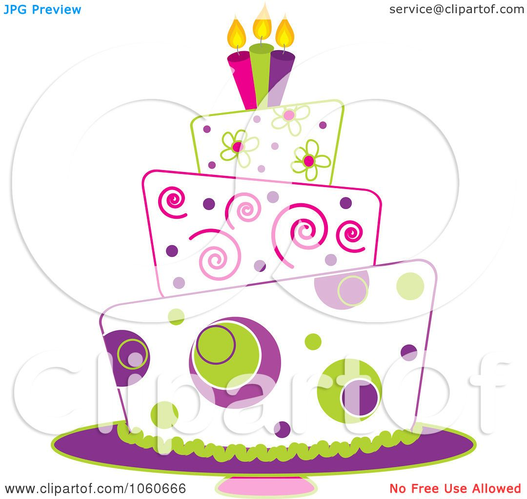 Royalty Free Vector Clip Art Illustration Of A Funky Three