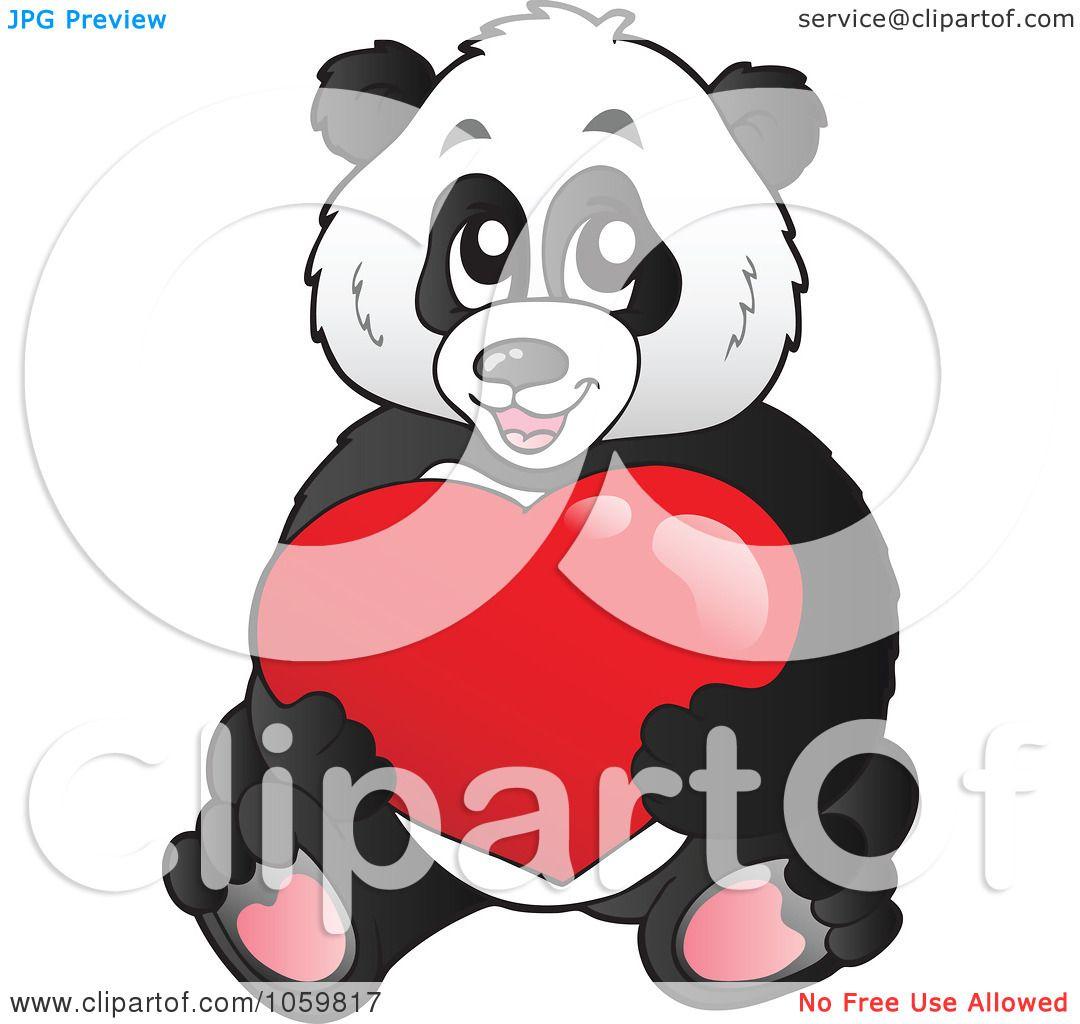 Royalty-Free Vector Clip Art Illustration of a Panda Bear ... - photo#25