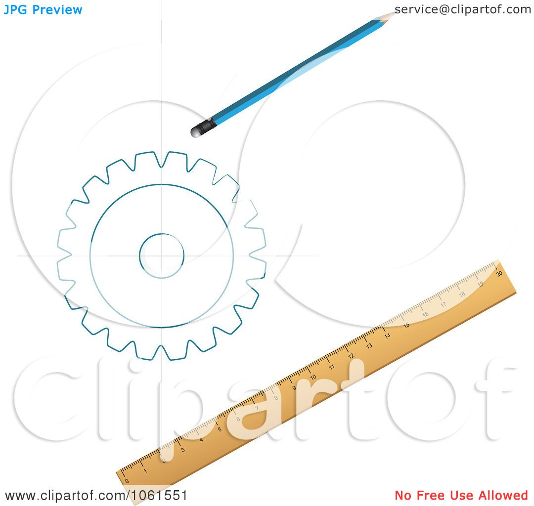Royalty-Free Vector Clip Art Illustration of a Pencil ...