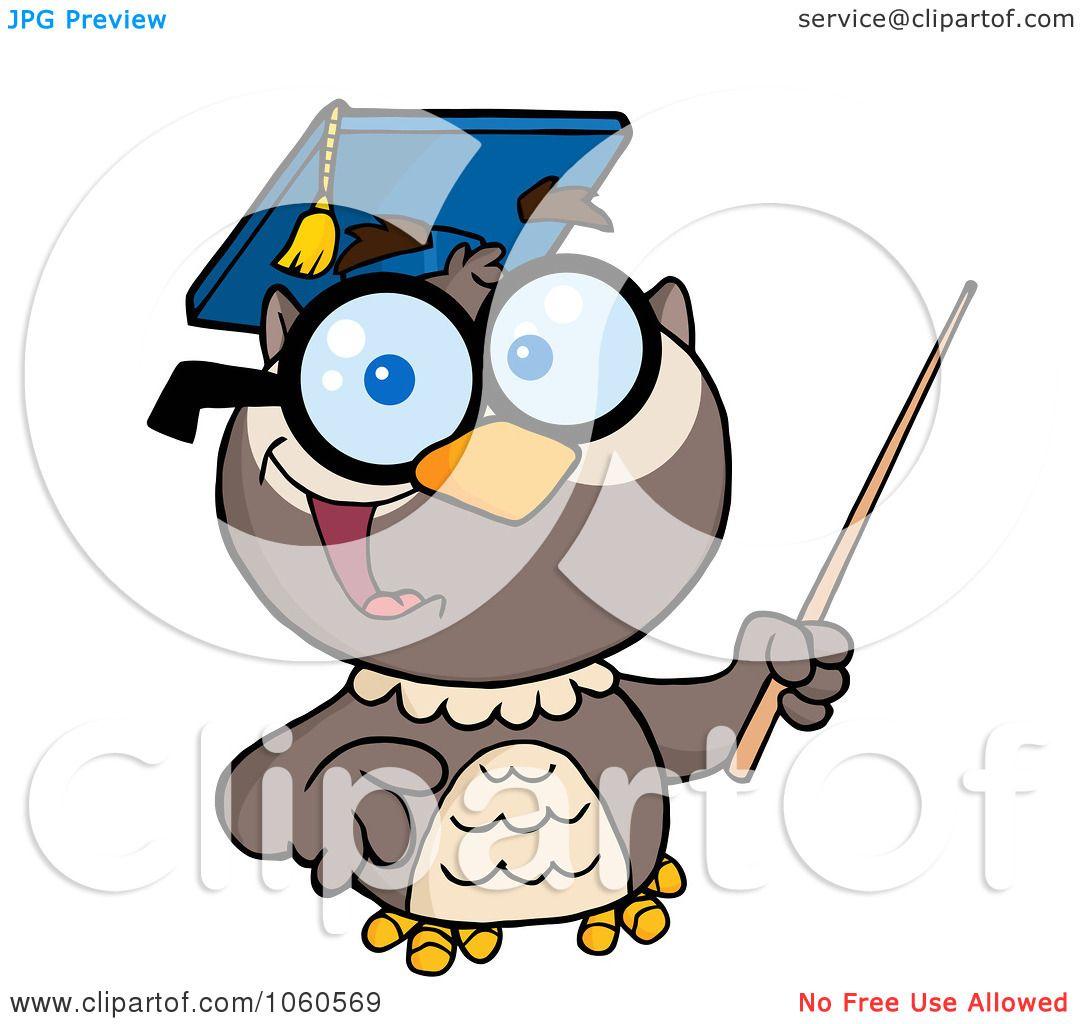 owl professor clipart - photo #42