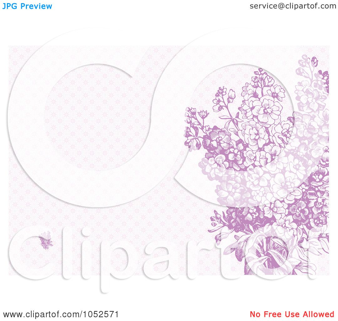 Royalty-Free Vector Clip Art Illustration Of A Purple