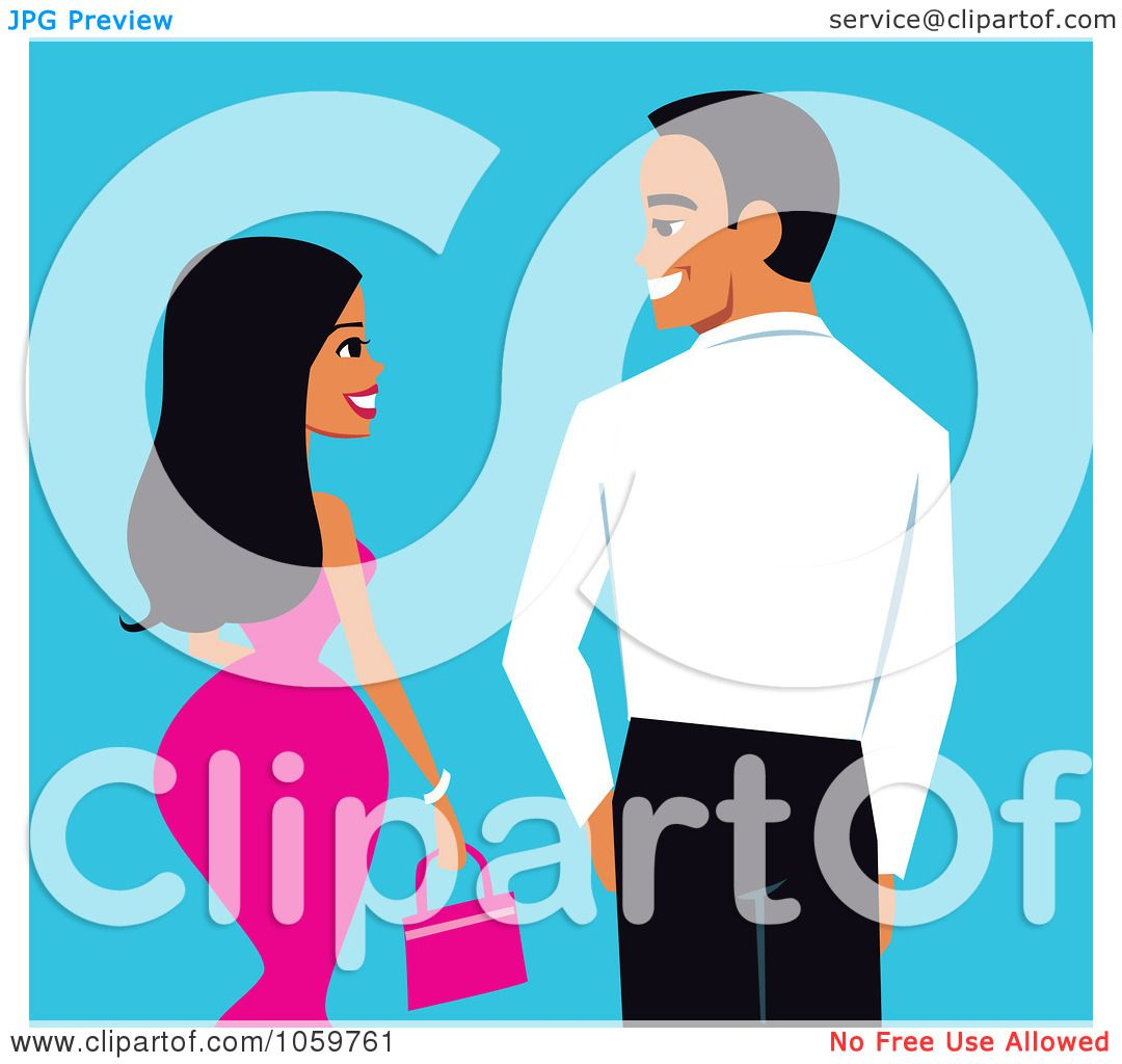 dating. african american clipart free