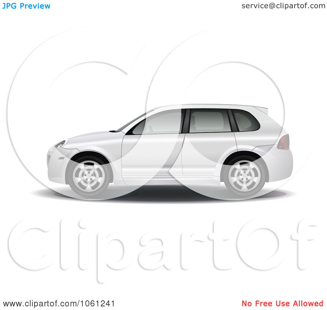royalty free vector clip art illustration of a side view of a 3d suv car by vector tradition sm. Black Bedroom Furniture Sets. Home Design Ideas
