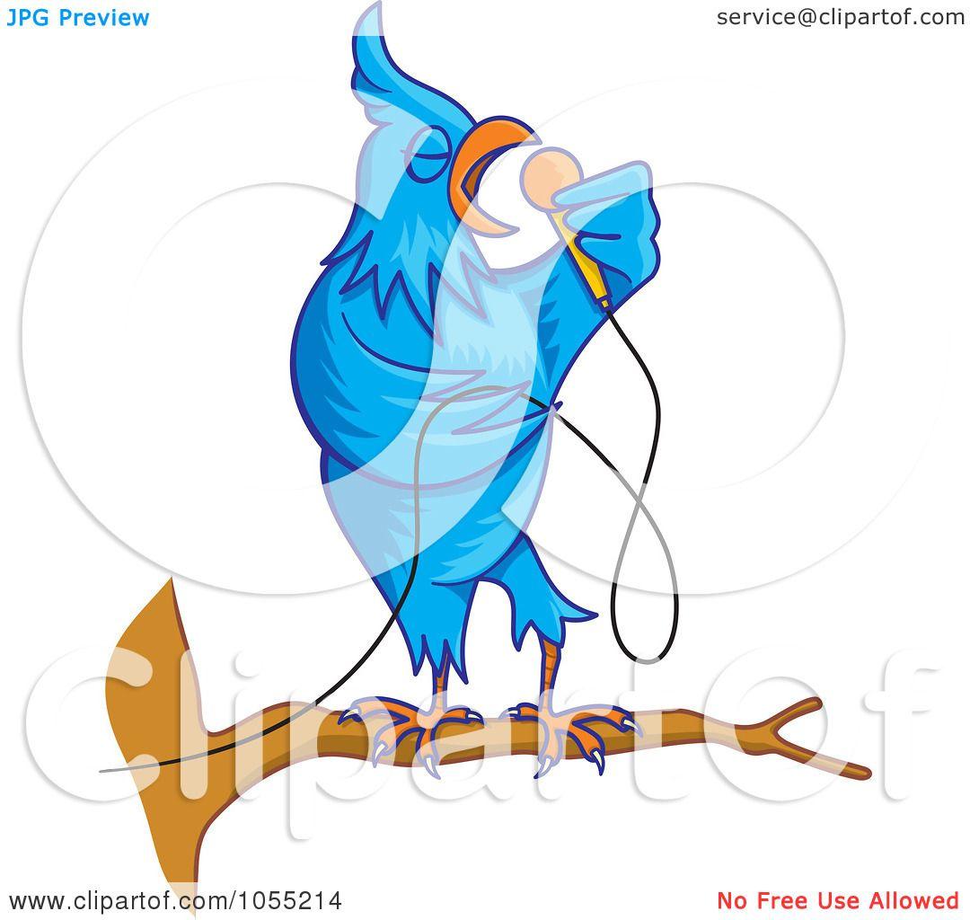 Royalty Free Vector Clip Art Illustration Of A Singing