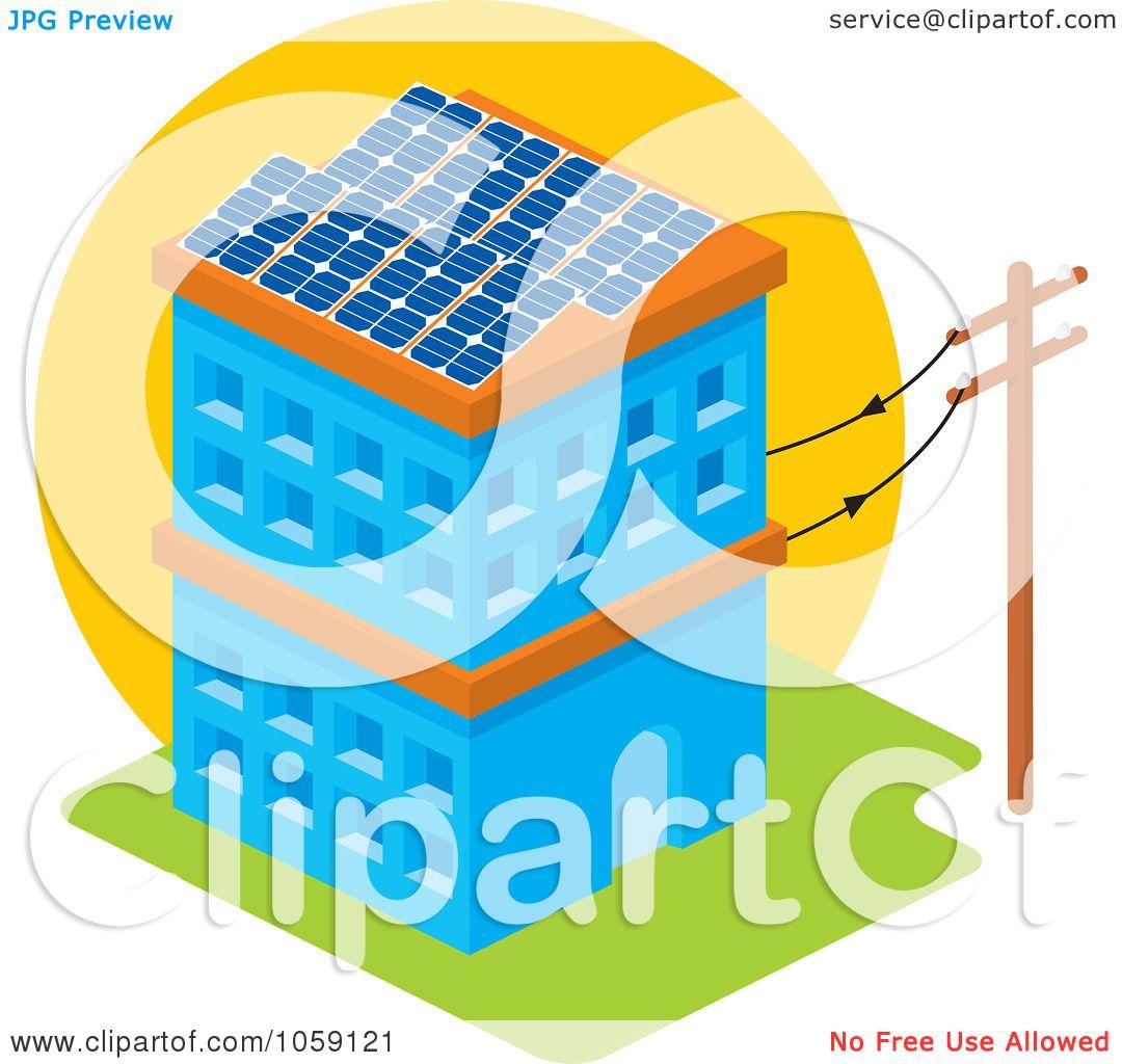 Royalty-Free Vector Clip Art Illustration of a Solar ...