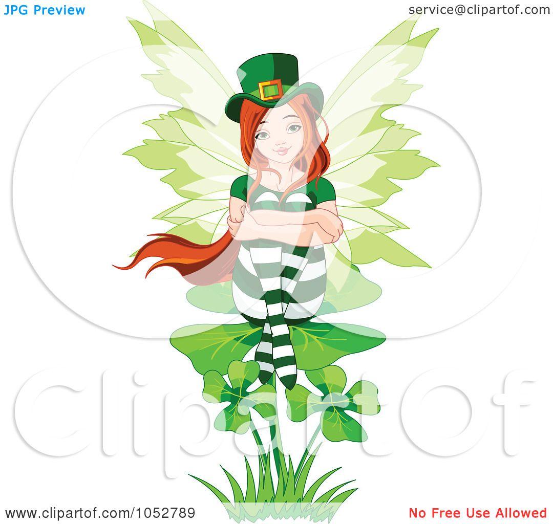 St Patricks Day Leprechaun Fairy Pixie Lucky Green Wings Saint Pats Fancy Dress