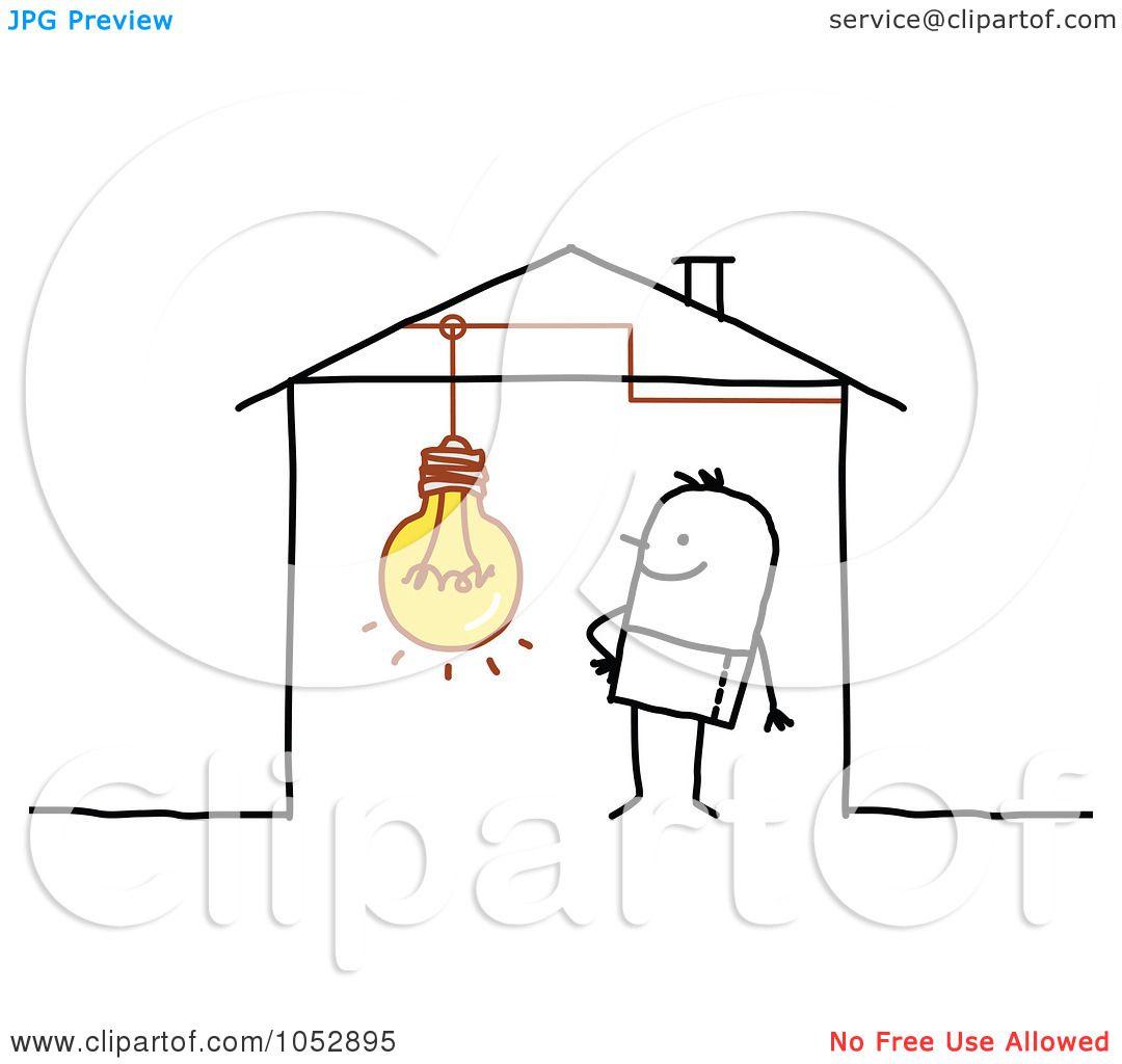 Royalty-Free Vector Clip Art Illustration of a Stick Figure Man ...