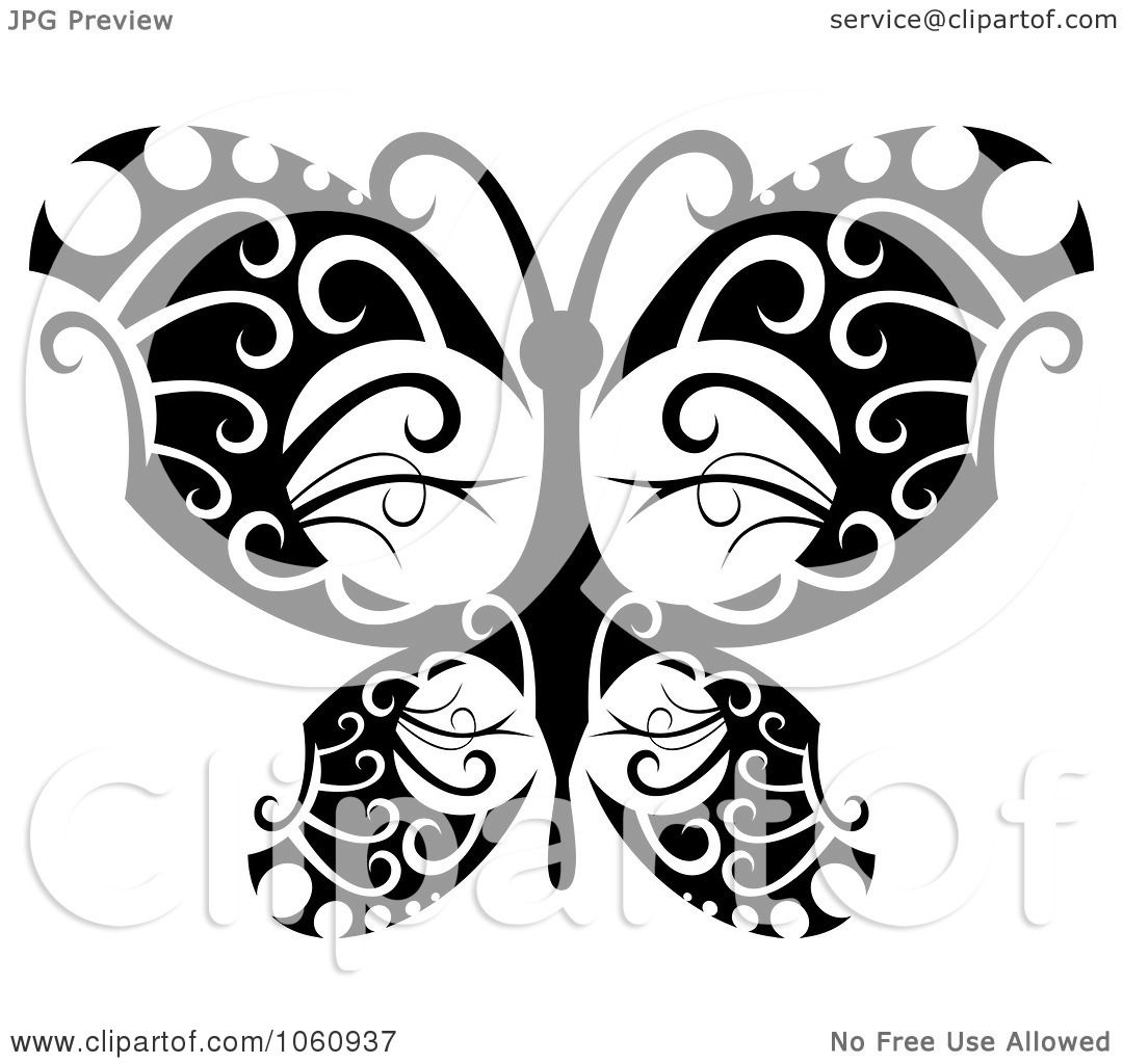 Tattoo Designs Clipart: Royalty-Free Vector Clip Art Illustration Of A Unique