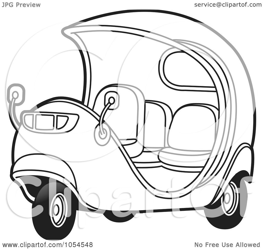 Royalty Free Vector Clip Art Illustration Of An Outlimned