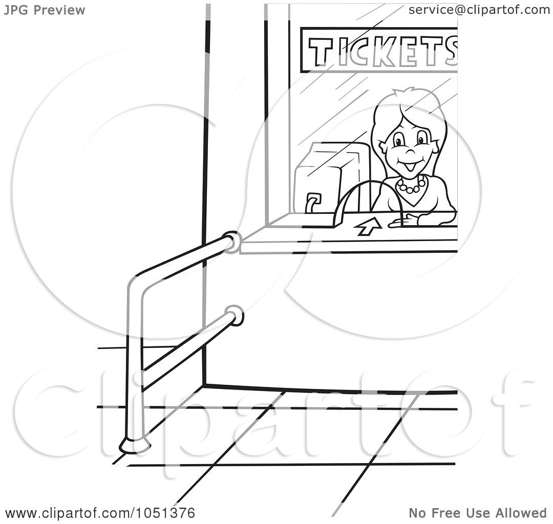 royalty vector clip art illustration of an outline of an royalty vector clip art illustration of an outline of an airport ticket lady by dero