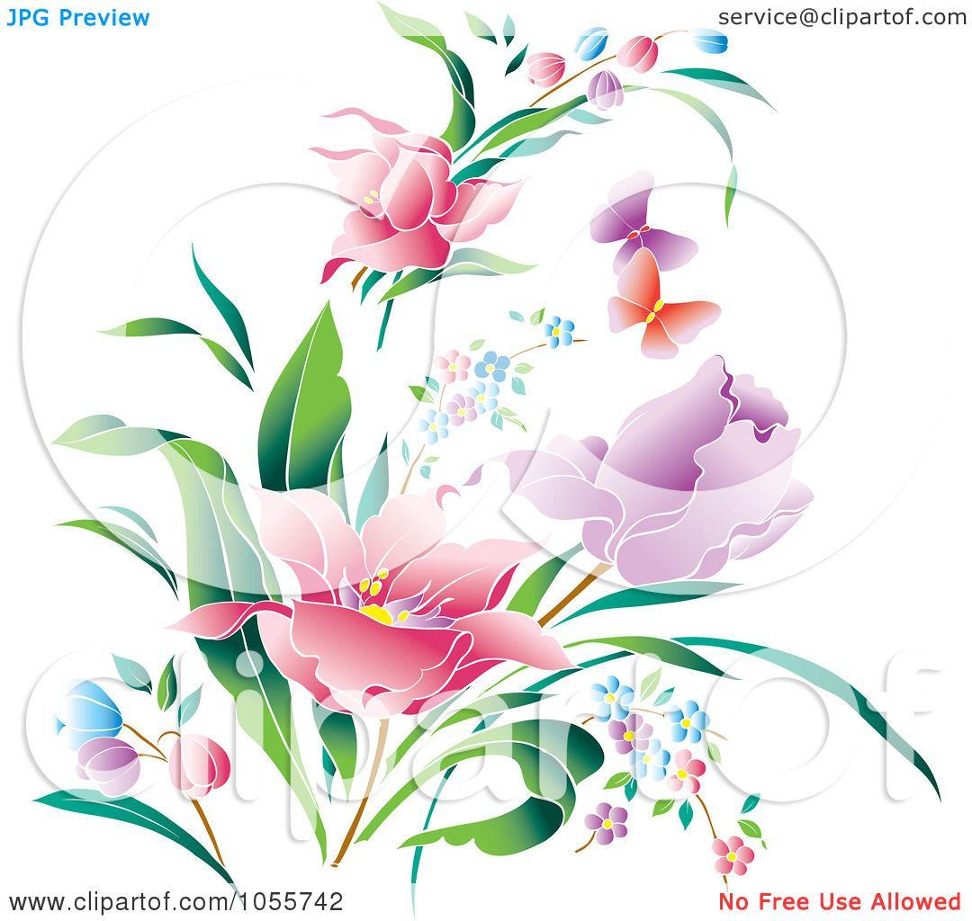 Royalty-Free Vector Clip Art Illustration of Beautiful ...
