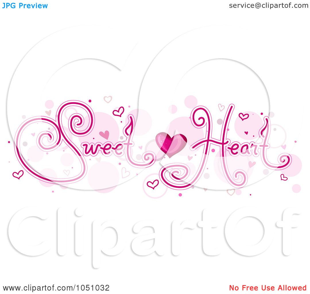 Royalty-Free Vector Clip Art Illustration of Sweet Heart ...