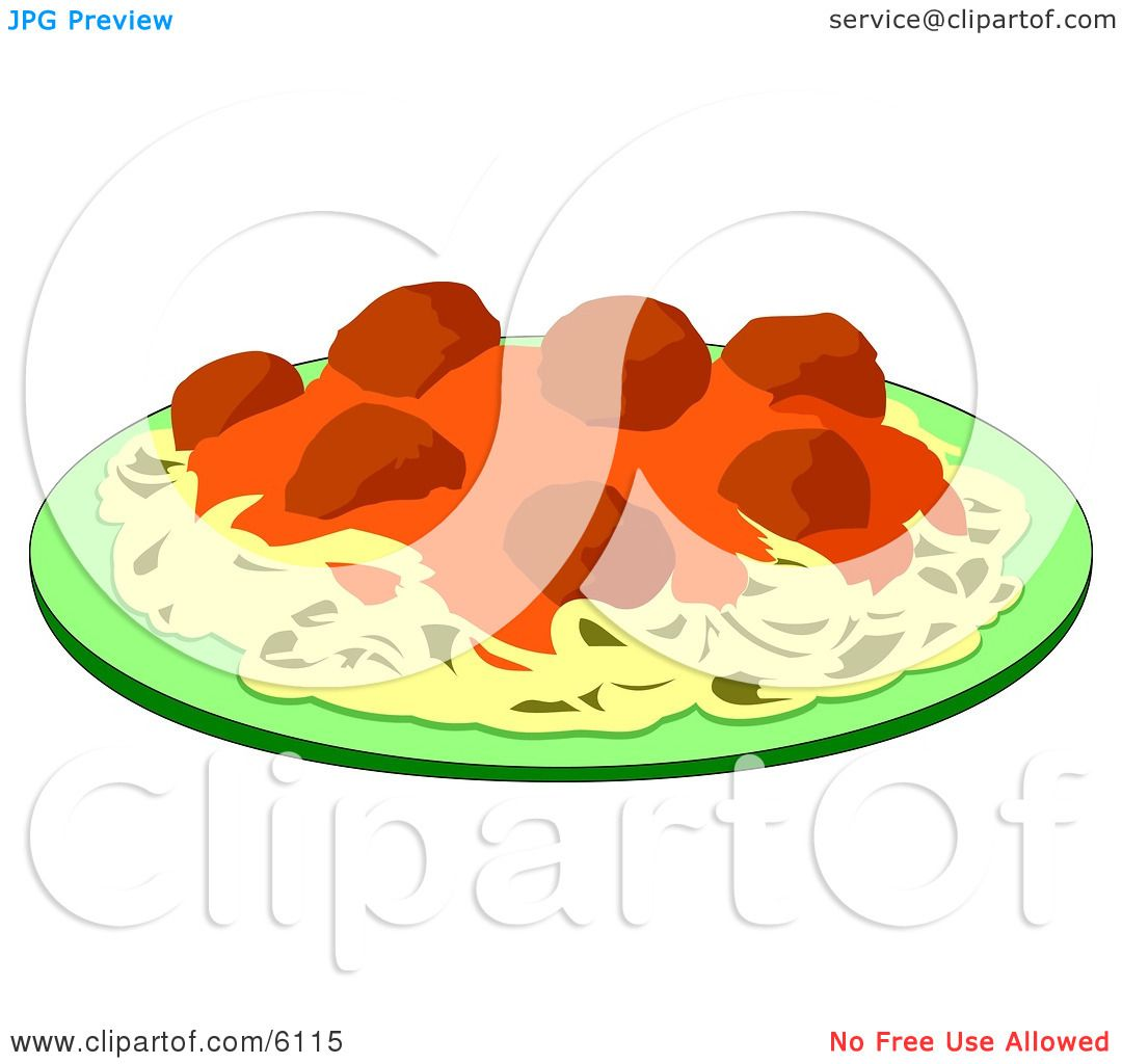 Food on a Plate Clipart by  Food Plate Clipart