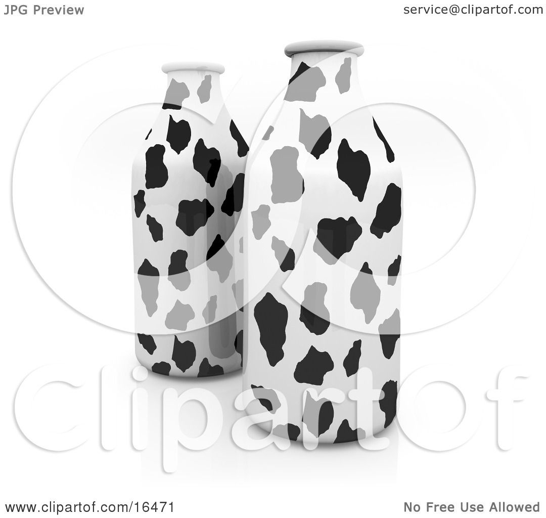 Milk Cow Clipart White Cow Pattern Clipart