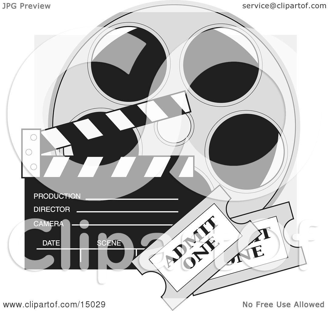 Movie Film Reel Clipart