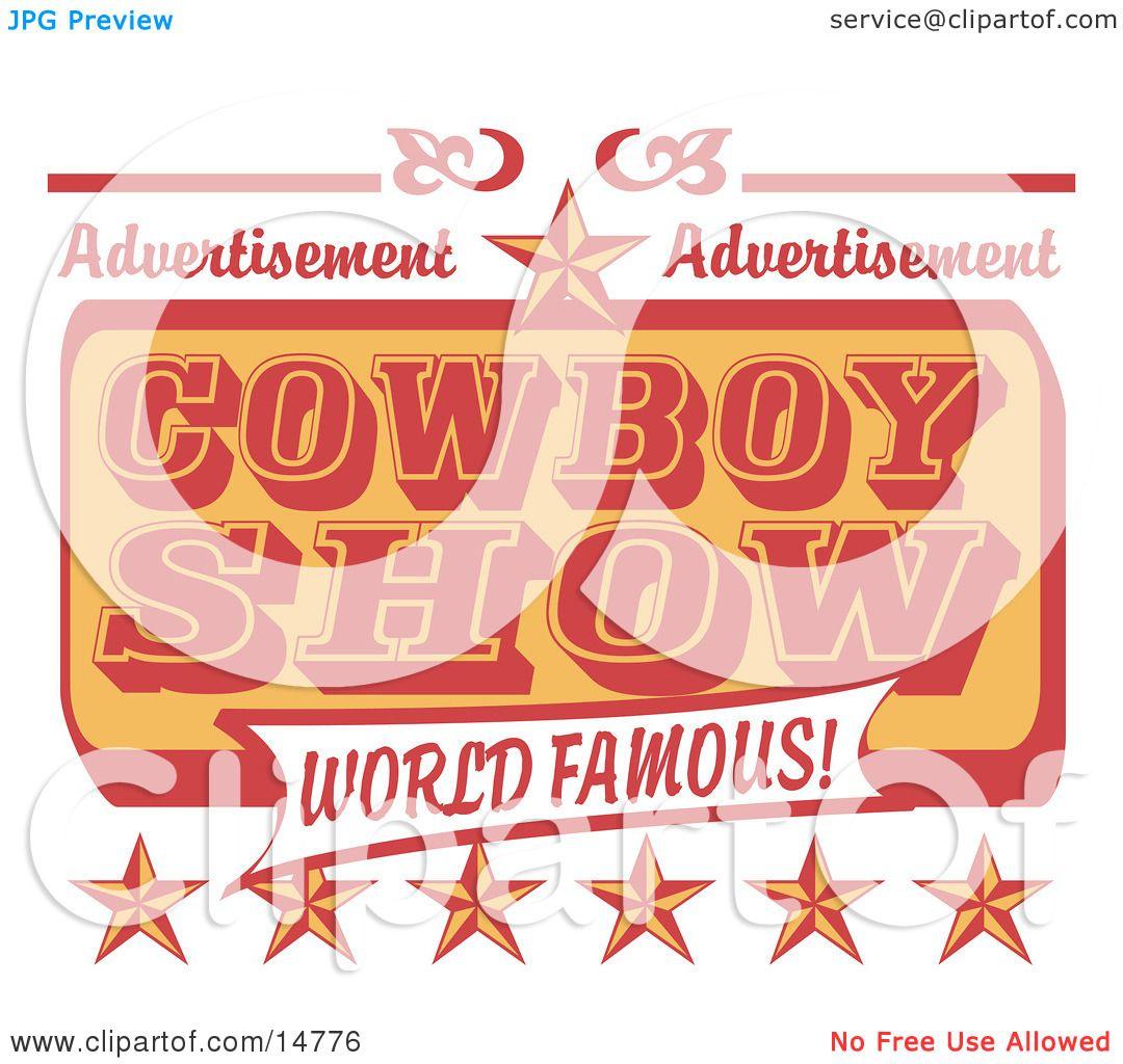 World Famous Clipart For a World Famous Cowboy