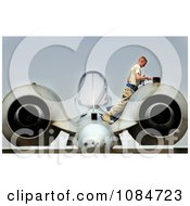 A 10 Warthog Inspection Free Stock Photography by JVPD