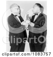 Abraham Heschel And Martin Luther King Free Historical Stock Photography by JVPD