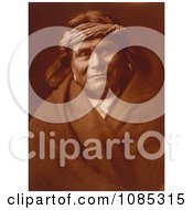 Acoma Indian Man Wearing Headband Free Historical Stock Photography by JVPD
