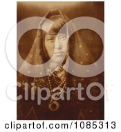 Acoma Woman With Jewelry Free Historical Stock Photography by JVPD