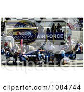 Air Force 21 Car Crew Free Stock Photography
