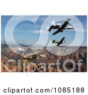 Air Force Heritage Flight Free Stock Photography by JVPD