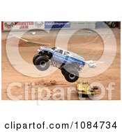 Air Force Monster Truck Free Stock Photography
