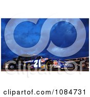 Air Force NASCAR Race Car Free Stock Photography
