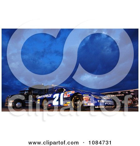 Nascar Auto Racing Free Clipart on Air Force Nascar Race Car   Free Stock Photography By Jvpd At