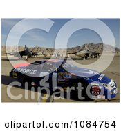 Airforce Race Car Free Stock Photography