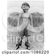 Aleut Boy Free Historical Stock Photography
