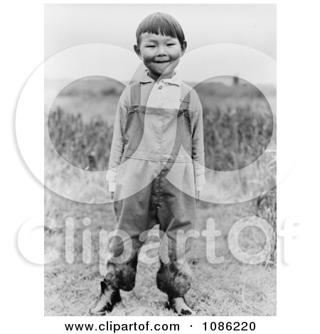 Aleut Boy - Free Historical Stock Photography by JVPD