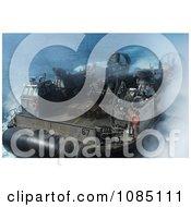 Amphibious Dock Landing Ship Free Stock Photography