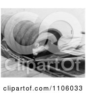 Annie Edson Taylor In Her Barrel 1901 Royalty Free Historical Stock Photography