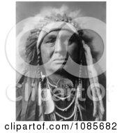 Apsaroke Indian Called White Man Runs Him Free Historical Stock Photography