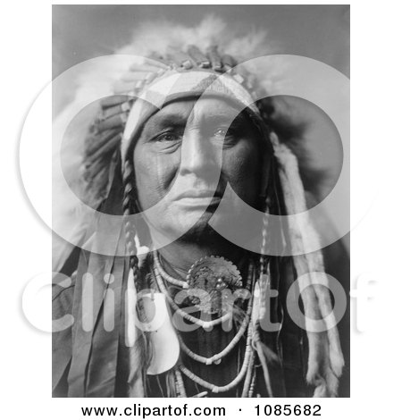 Apsaroke Indian Called White Man Runs Him - Free Historical Stock Photography by JVPD