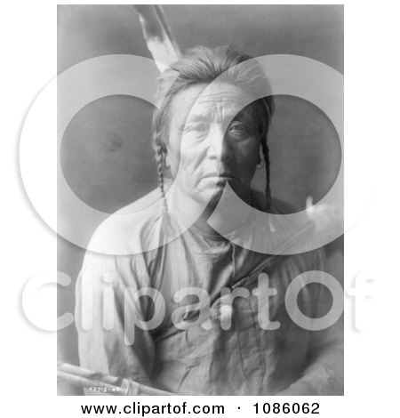 Apsaroke Man - Free Historical Stock Photography by JVPD