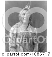 Apsaroke Native American Indian Man Named Sitting Elk Free Historical Stock Photography