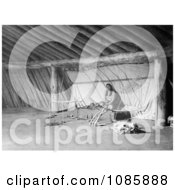 Arikara Indian Altar Free Historical Stock Photography