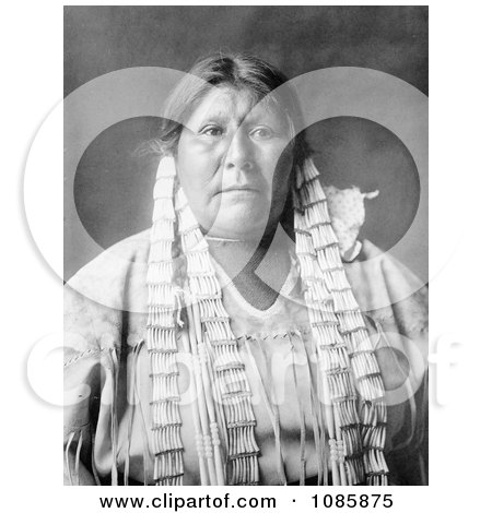Arikara Native American Woman - Free Historical Stock Photography by JVPD
