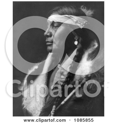 Assiniboin Man - Free Historical Stock Photography by JVPD