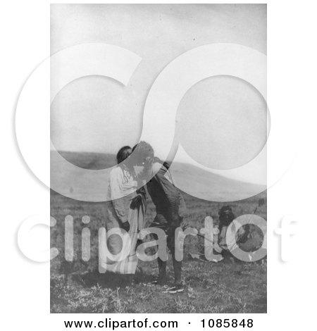 Atsina Crazy Dance - Free Historical Stock Photography by JVPD