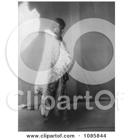Atsina Native Woman - Free Historical Stock Photography by JVPD