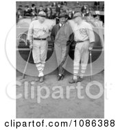 Babe Ruth Jack Bentley And Jack Dunn Free Historical Baseball Stock Photography by JVPD