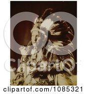 Bad Wound Sioux Native American Indian Free Historical Stock Photography by JVPD